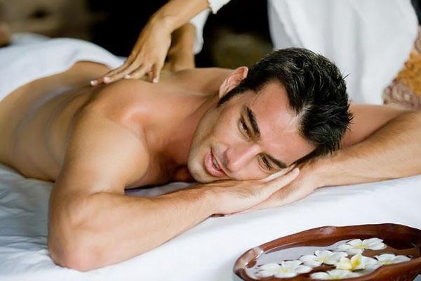 Как сделать приятный массаж мужчине видео
